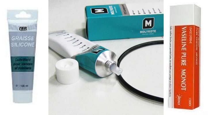 Entretien des joints, des O-ring avec de la vaseline ;-) Silico10