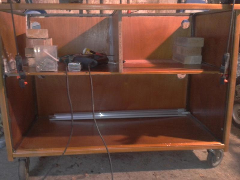 Aménagement d'un meuble de terra en batterie 2012-110