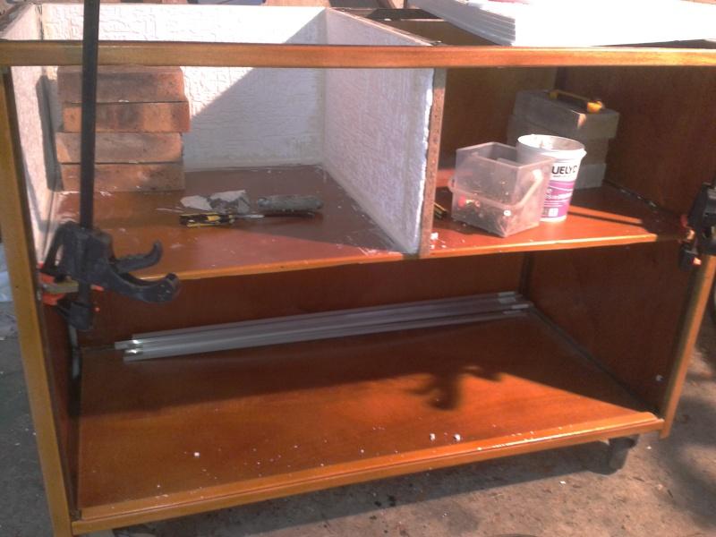 Aménagement d'un meuble de terra en batterie 2012-113