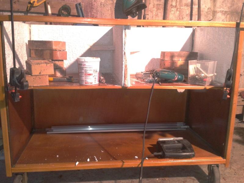 Aménagement d'un meuble de terra en batterie 2012-114