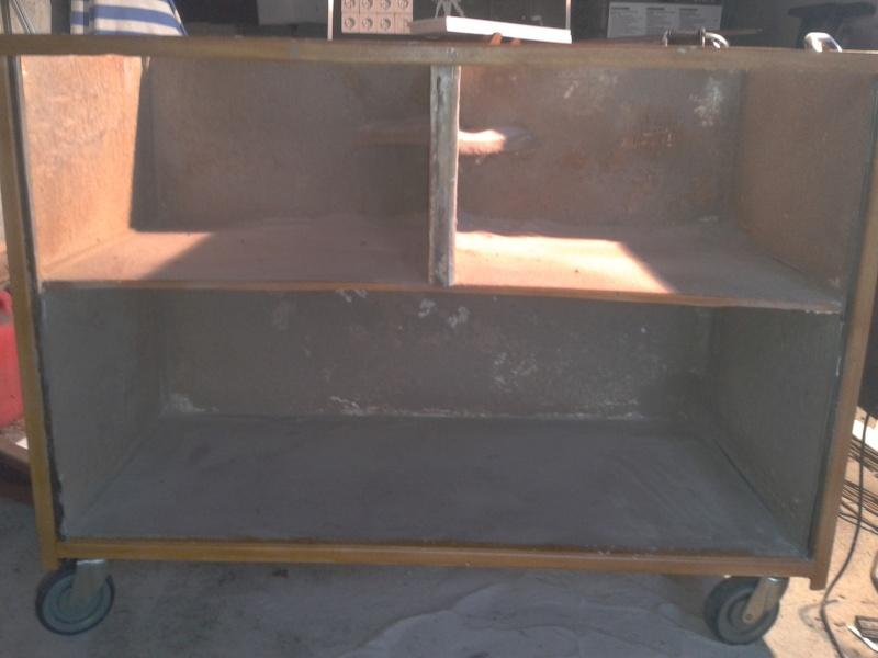 Aménagement d'un meuble de terra en batterie 2012-116