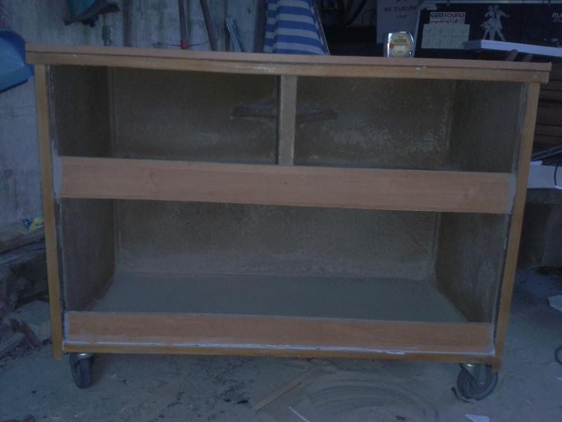 Aménagement d'un meuble de terra en batterie 2012-117