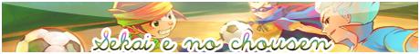 Un nouveau défis pour le monde ! Sekai E no Chousen  ||.RPG Inazuma Eleven Bouton23