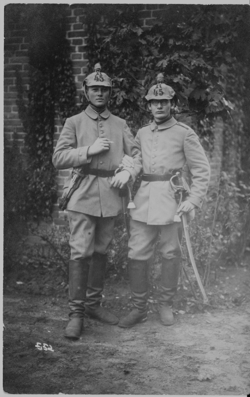 Les étuis des Luger P 08/14 d'artillerie de l'armée impériale allemande. Artill12