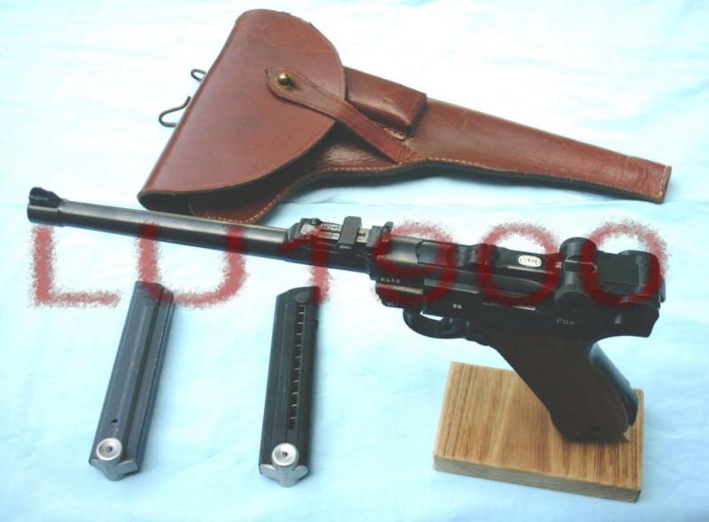 Réflexions sur la production de pistolets Luger, par Mauser, en 1945-1946. Franaa14