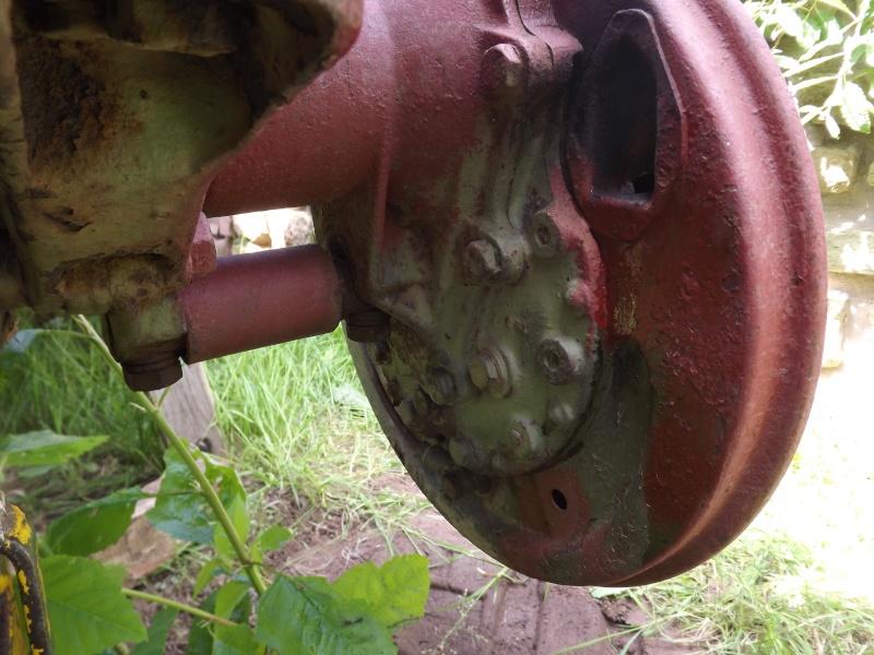 U411 ponts banjo - changement cable de frein à main 2012-027