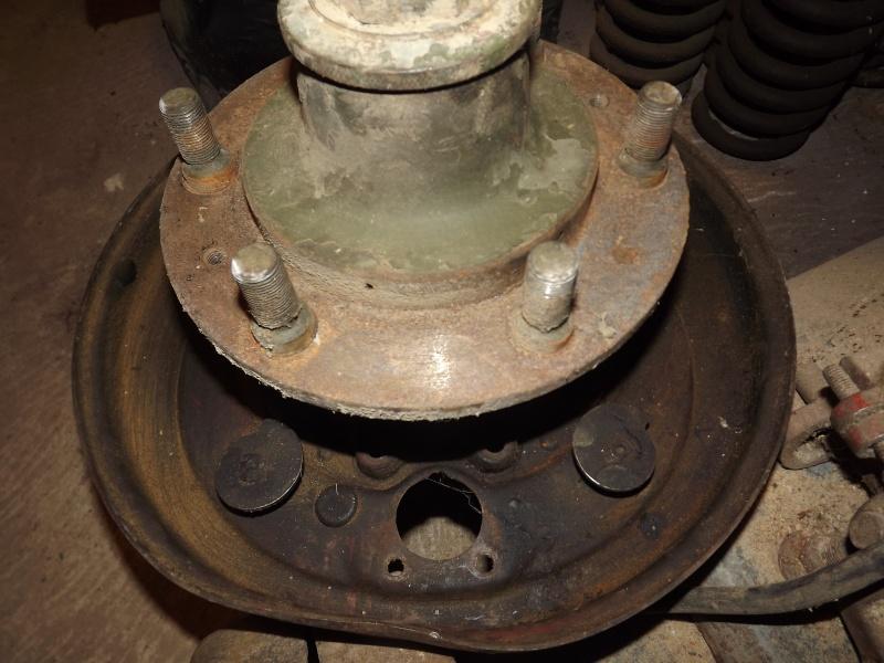 U411 ponts banjo - changement cable de frein à main 2012-028