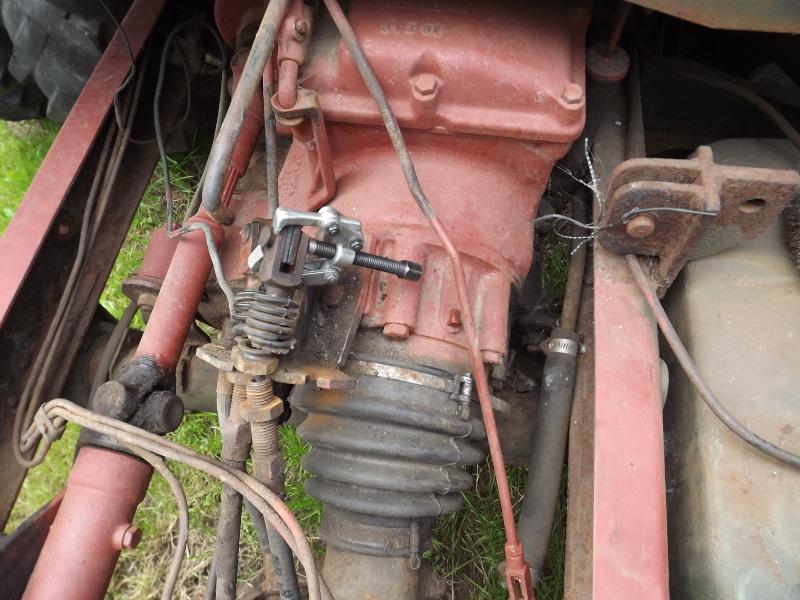 U411 ponts banjo - changement cable de frein à main 2012-034