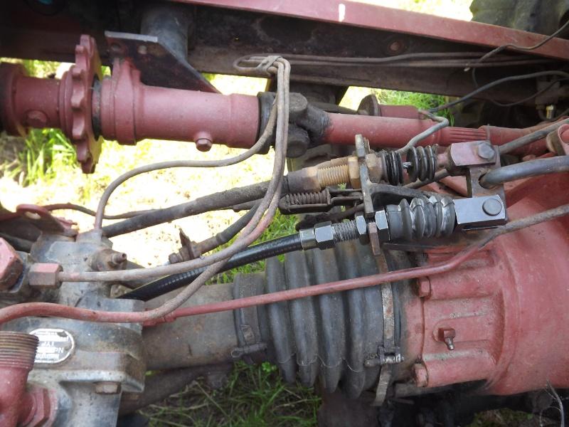 U411 ponts banjo - changement cable de frein à main 2012-035