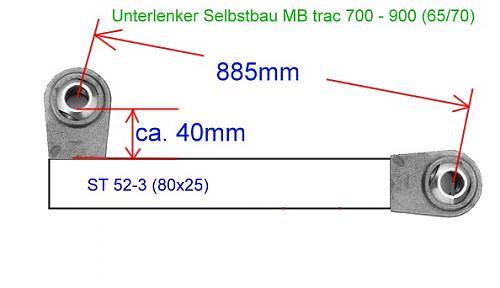 bras de relevage 411 Unterl10