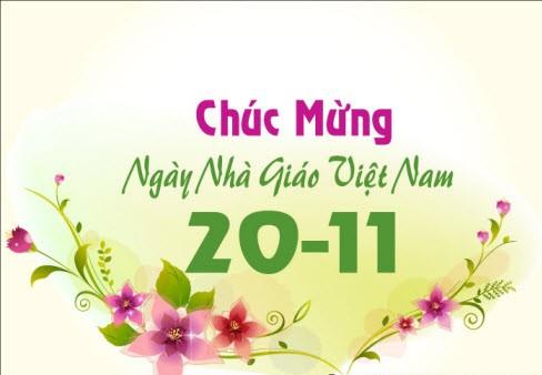 Chúc mừng ngày Nhà giáo Việt Nam  20/11/2011 201110