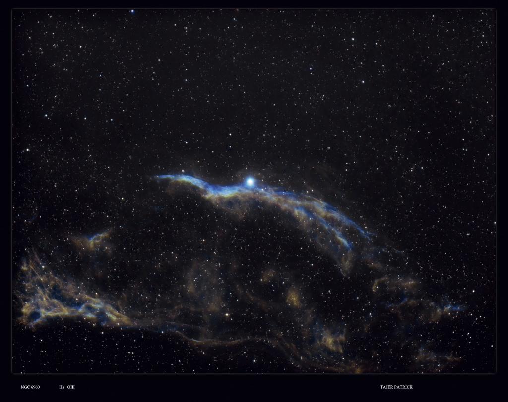 Astro plombier débutant  NGC 6960  NGC 6823 Narrow12