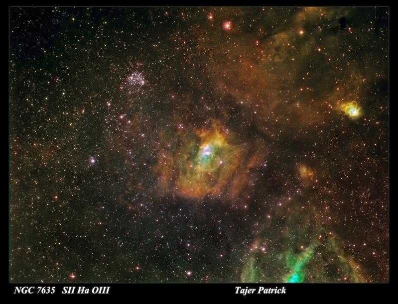 Astro plombier débutant   ébauche région Bubble Nébula Ngc-7613