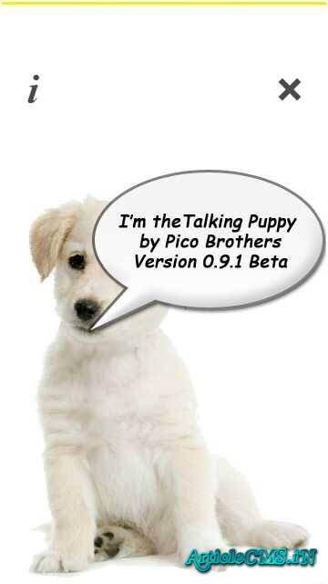 Puppy Talk v0.91 Beta Tis0y10