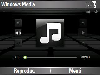 Mascaras para windows media player de windows mobile Blackm10