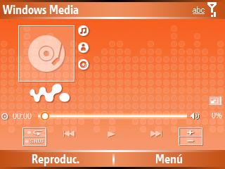 Mascaras para windows media player de windows mobile Wallma10
