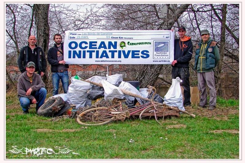Nettoyage des Berges de Garonne avec SurfRider Foundation 30813910