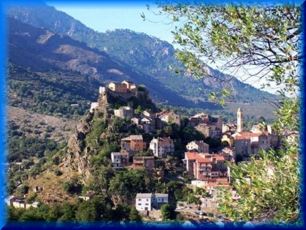 Corte Capitale historique de la Corse 1213