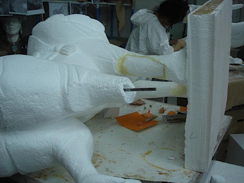 sculpture polystyrene M1 Dsc06210