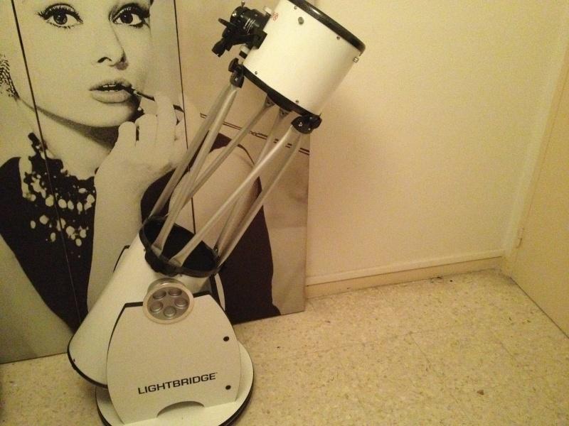 Télescope MEADE Dobson LightBridge DELUXE 203 mm enfin arrivée !! Photo-10
