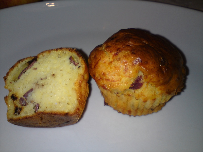 muffins tomates séchées magrets séchés Muffin14