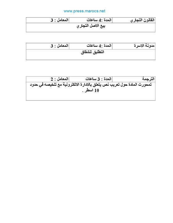 وزارة العدل: نماذج مباريات لتوظيف ملحقين قضائيين سنوات 1999 و 2002 و 2010 910