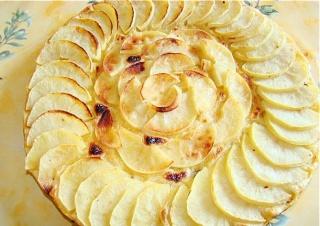 Tarte aux pommes sans moule Pomme12