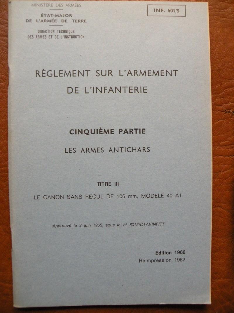 CHARGEUR ET MUNITION POUR TUBE DE REGLAGE DE CANON SR 106. 106_210