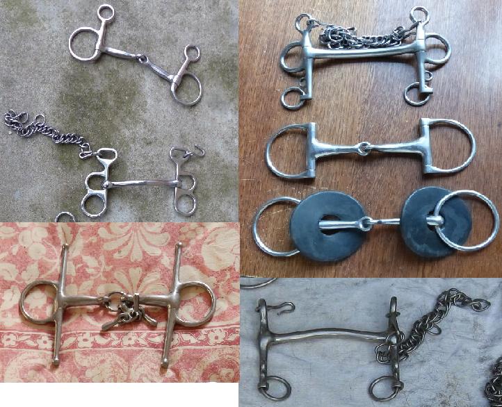 harnais poney, filets, mors et autres matériels Mors_t10