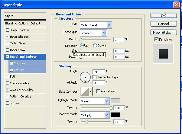 Cum realizam un avatar cu design placut si elegant Bevel_10