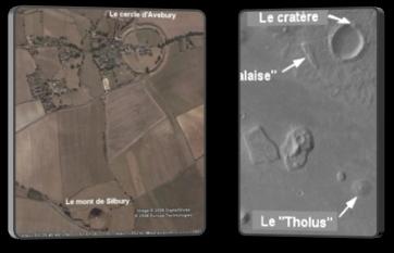 cydonia - Analyse détaillé du site de Cydonia sur Mars : Des structures qui n'ont rien de naturel Cercle10