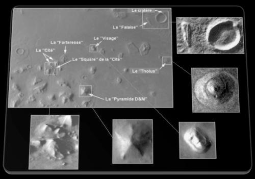 cydonia - Analyse détaillé du site de Cydonia sur Mars : Des structures qui n'ont rien de naturel Region10