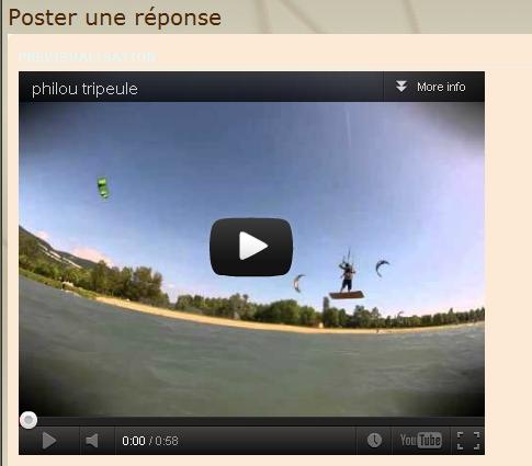Insérer un lecteur vidéo dans votre post Youtub12