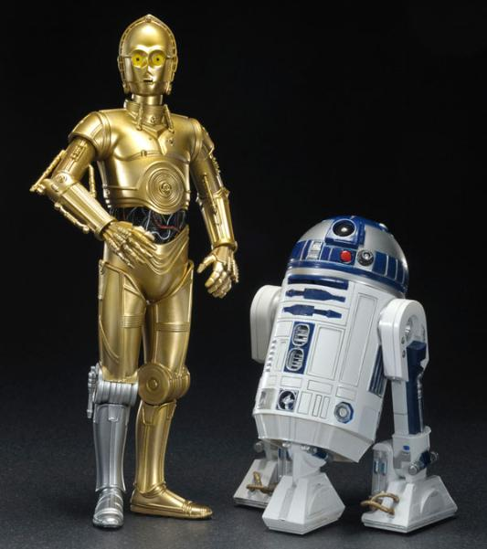 STAR WARS ARTFX C-3PO AND R2-D2 ARTFX Star_w11