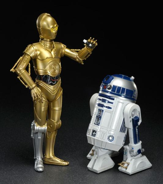 STAR WARS ARTFX C-3PO AND R2-D2 ARTFX Star_w12
