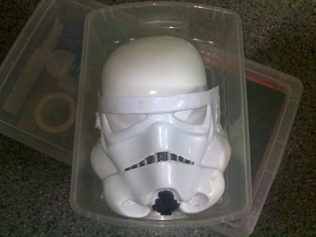 ROTJ helmet kit Verne restoration 02082010