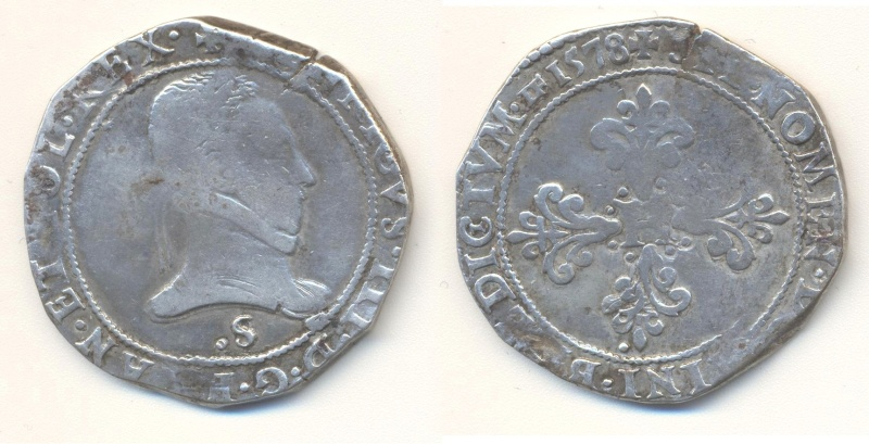 HENRI III : FRANC 1578  S Franc_10