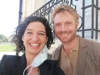 Le docteur Hervé Merle et son épouse (par Yannis Bougeard et Cécile Mazéas) B9723810