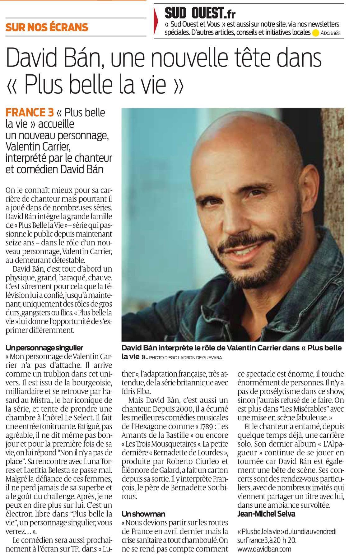 Rubrique PRESSE ! - Page 7 Davidb10