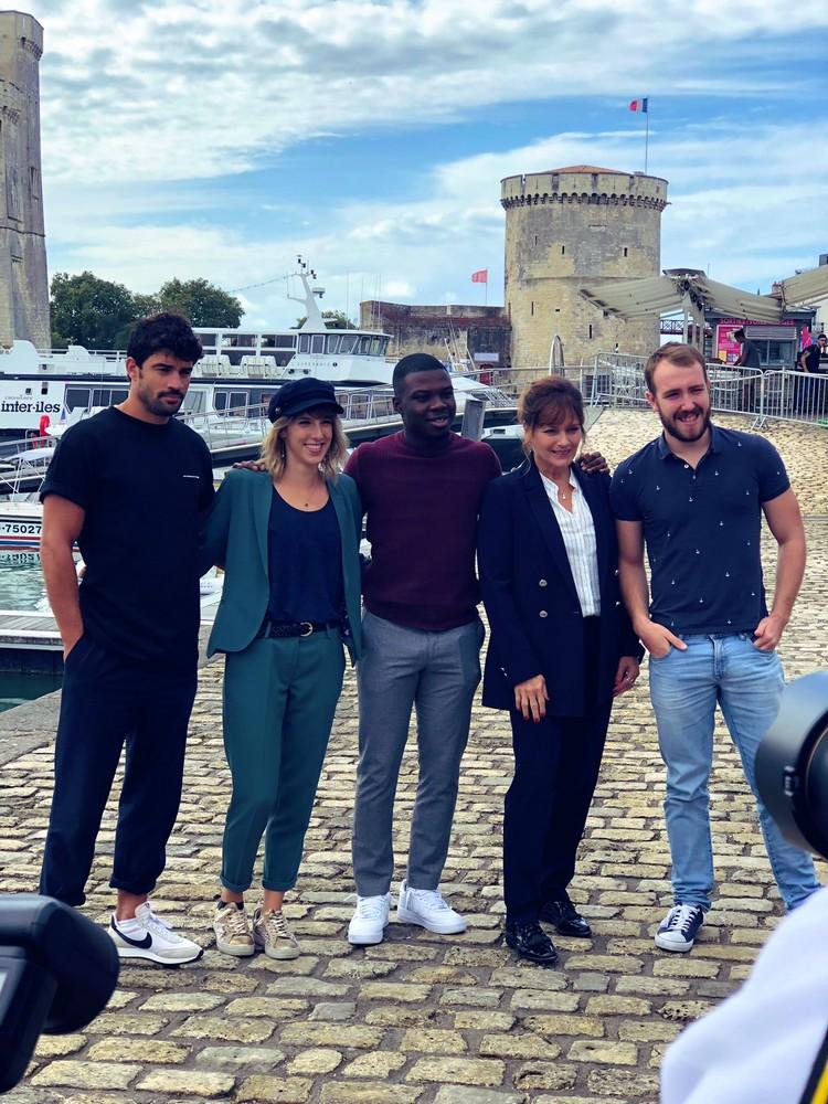 Les comédiens au Festival de la fiction TV La Rochelle - Page 2 E_pj6u10