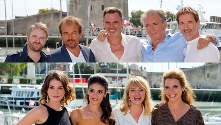 Les comédiens au Festival de la fiction TV La Rochelle - Page 2 Festiv10