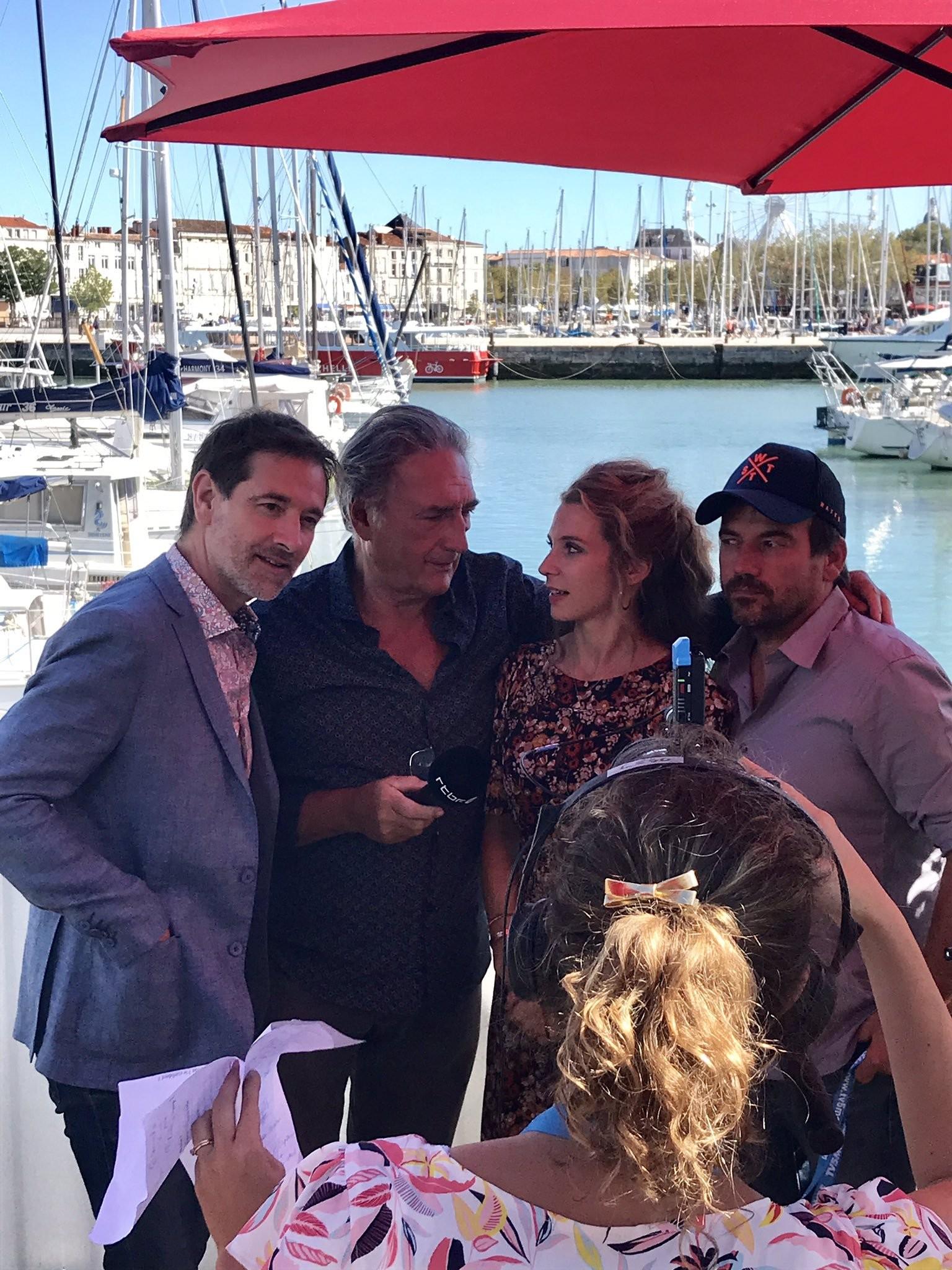 Les comédiens au Festival de la fiction TV La Rochelle Fftv110