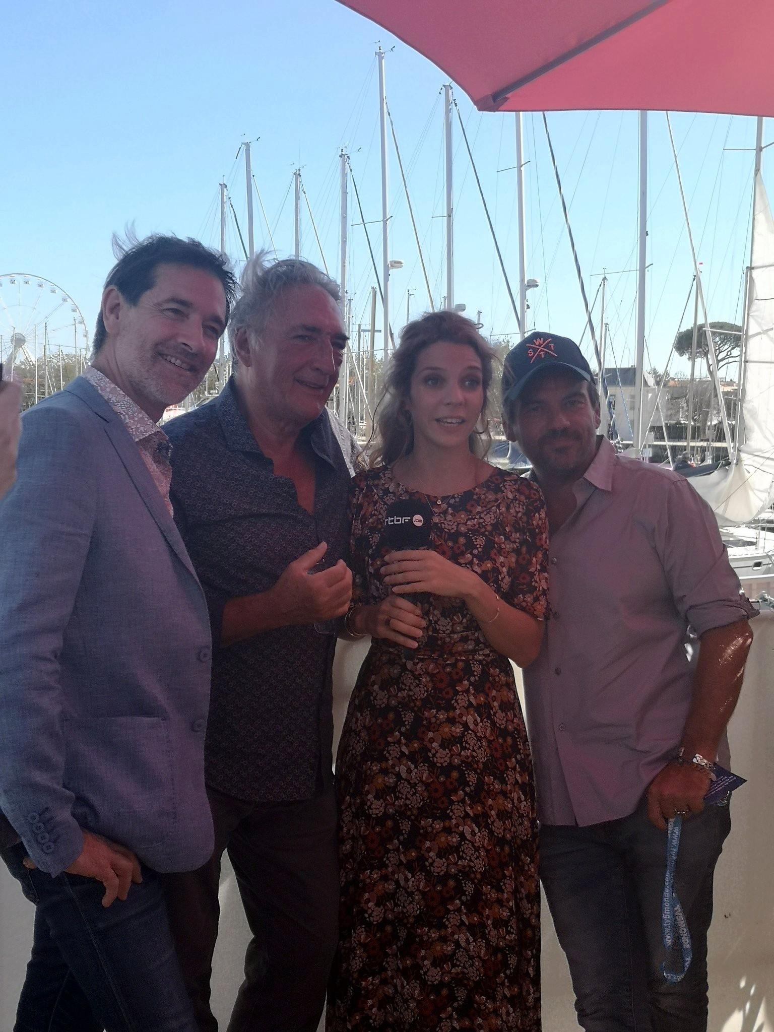 Les comédiens au Festival de la fiction TV La Rochelle Fftv510