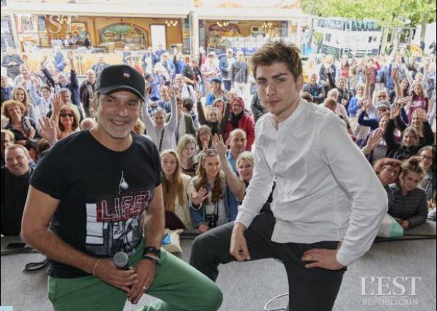 Jules Fabre et Avy Marciano à la foire de Nancy (08/06/19) Foire311