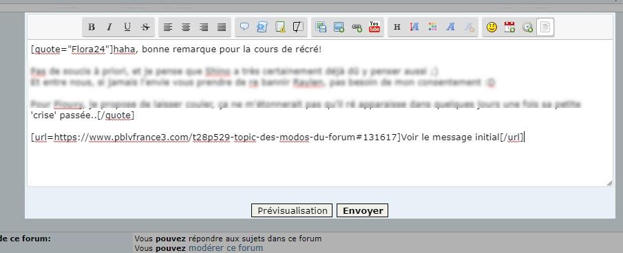 [PHPBB2] *RESOLU*Ajouter lien message dans titre citation Forum111