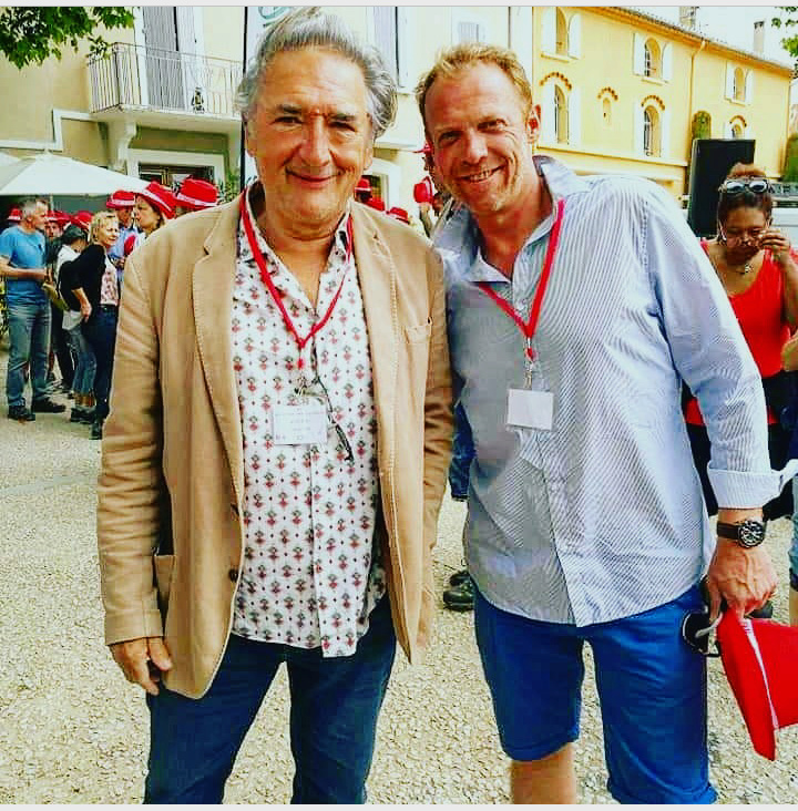 Alexandre Fabre et Régis Maynard à Rasteau (09/06/19) Fremon12