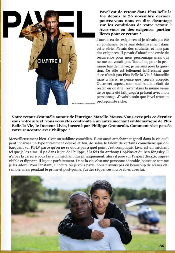 Interviews des comédiens et équipes - Page 11 Itw110