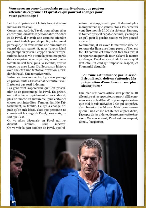 Interviews des comédiens et équipes - Page 11 Itw210