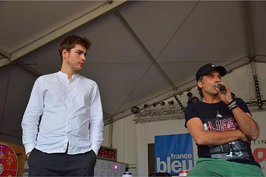 Jules Fabre et Avy Marciano à la foire de Nancy (08/06/19) Jules310