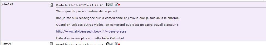 Colombe Roussin (par Alix Bénézech) - Page 3 Julor110